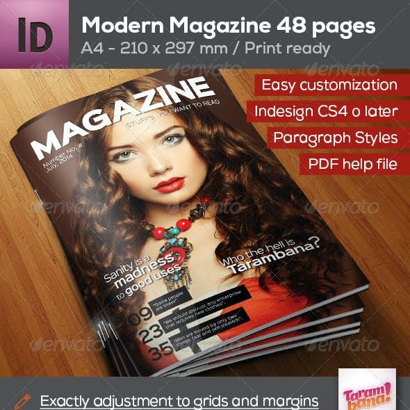 Professional Magazine A4