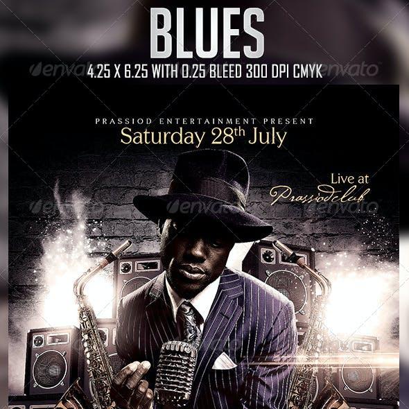 Blues Flyer Template