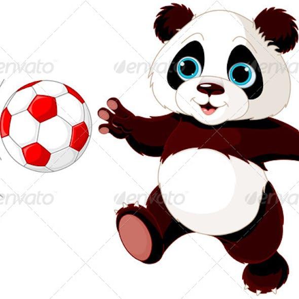 Panda Hits the Ball