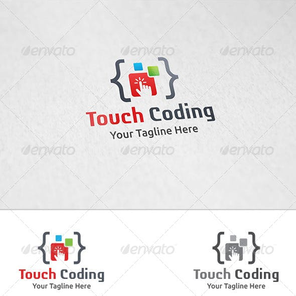 Touch Coding - Logo Template
