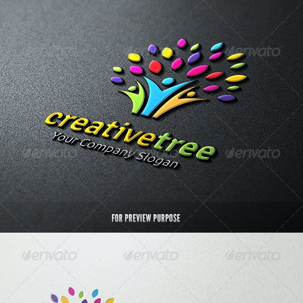 People Creative Tree logo