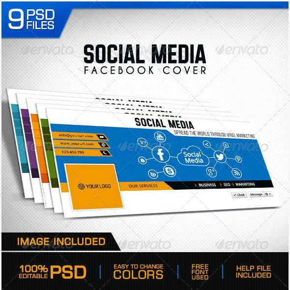 Social Media Marketing Facebook Cover