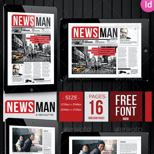 E-newsletter NewsMan