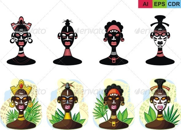 Representatives of the Tribe - People Characters