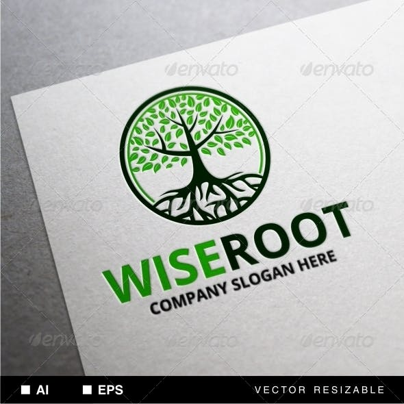 Wise Root Logo