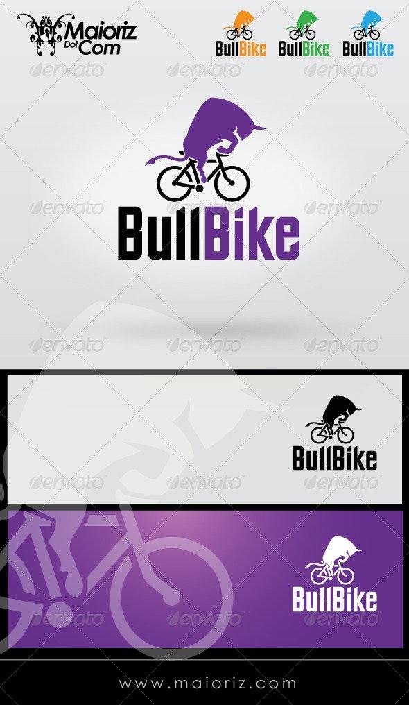 Bull Bike Logo Template - Animals Logo Templates
