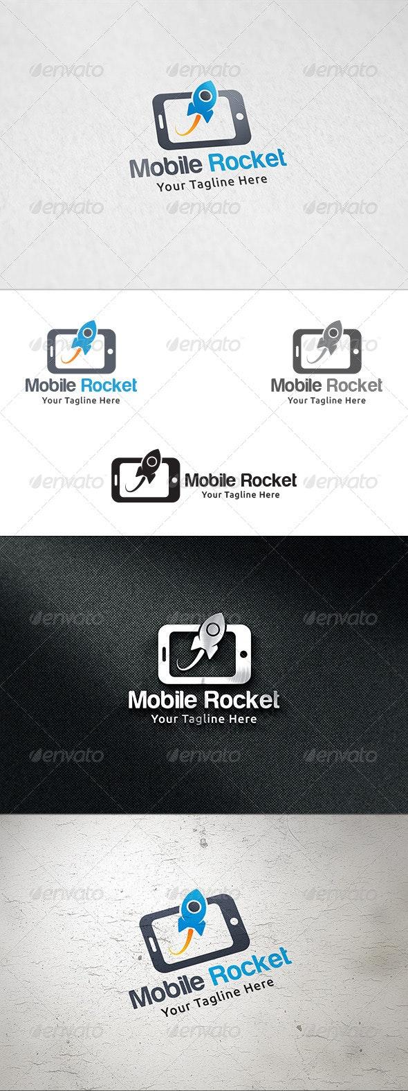 Mobile Rocket - Logo Template - Symbols Logo Templates