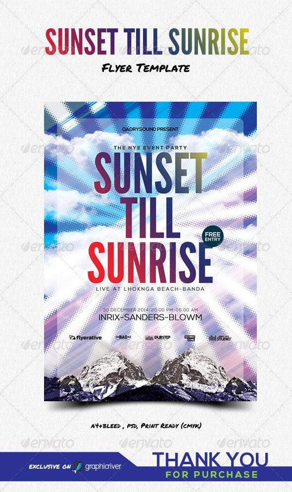 Sunset Till Sunrise - Clubs & Parties Events