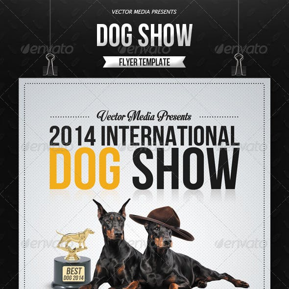 Dog Show - Flyer