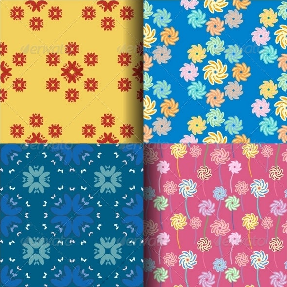 Abstract Seamless Pattern Background - Patterns Decorative