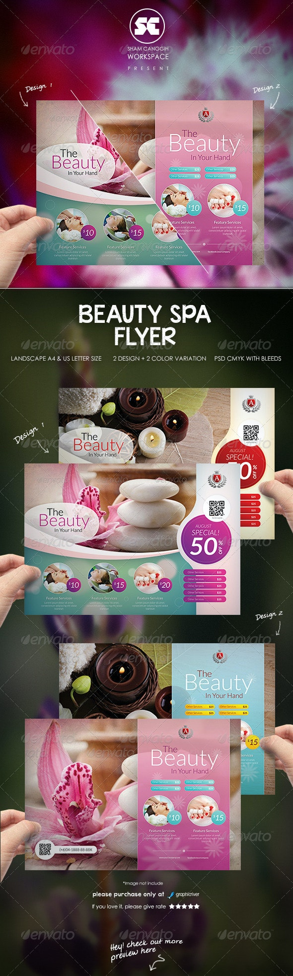 Beauty Spa Flyer - Corporate Flyers