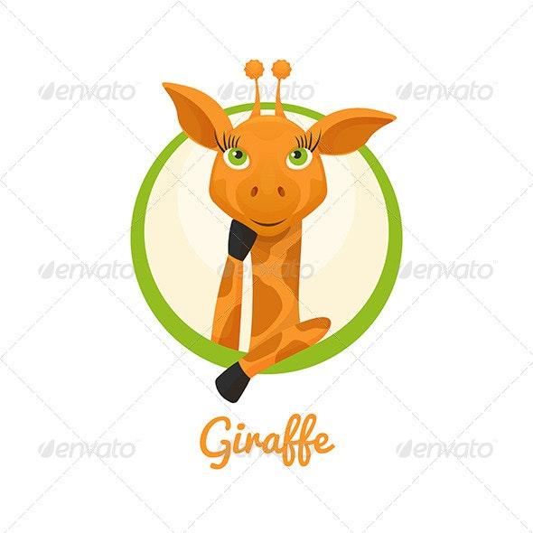 Giraffe - Characters Vectors