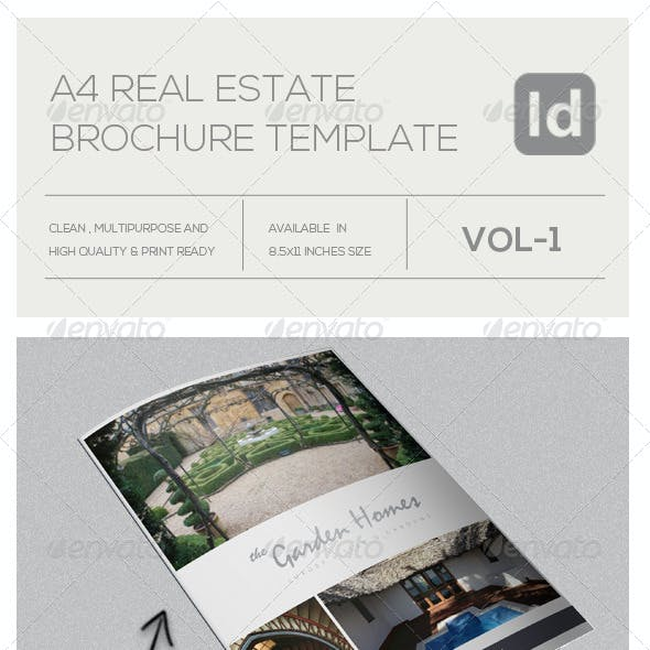 Real Estate Business Tri-Fold A4