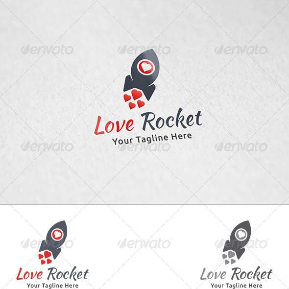 Love Rocket - Logo Template