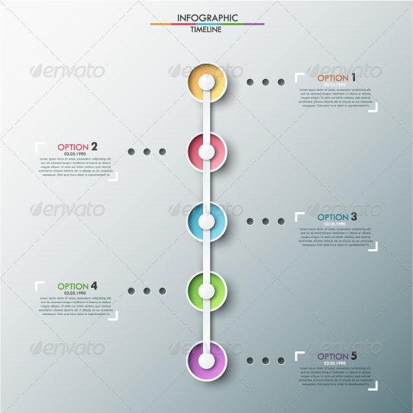 Modern Infographics Timeline - Infographics