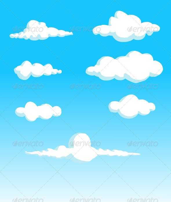 Clouds - Decorative Vectors