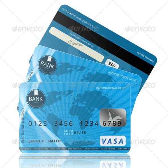 PSD Credit Card Template