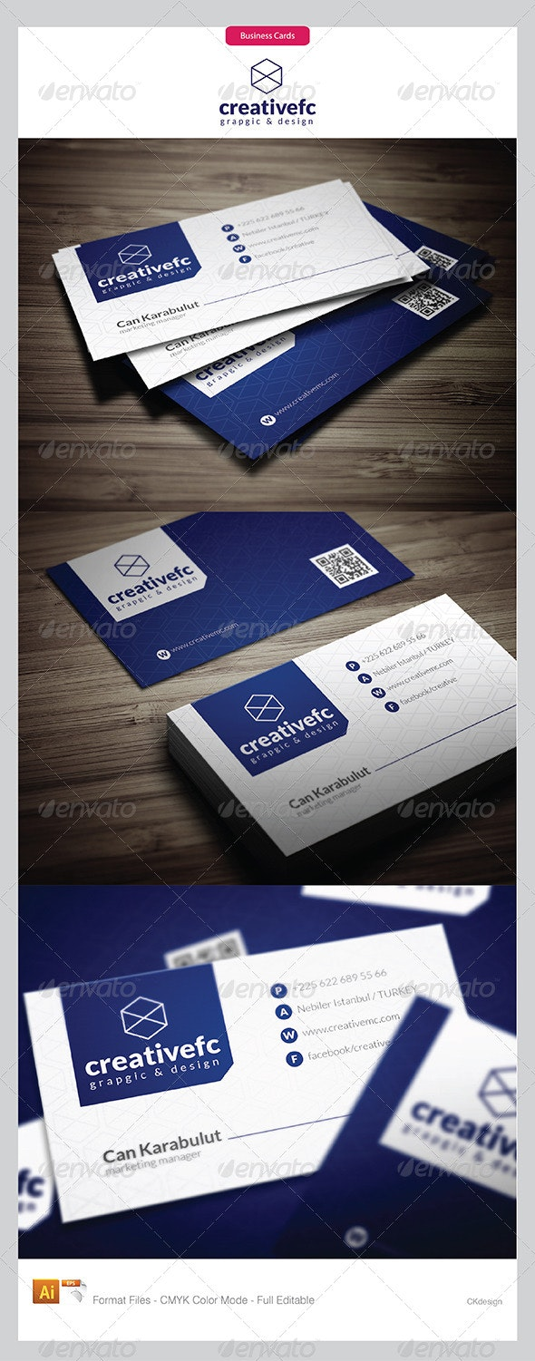 corporate business cards 411 - Business Cards Print Templates