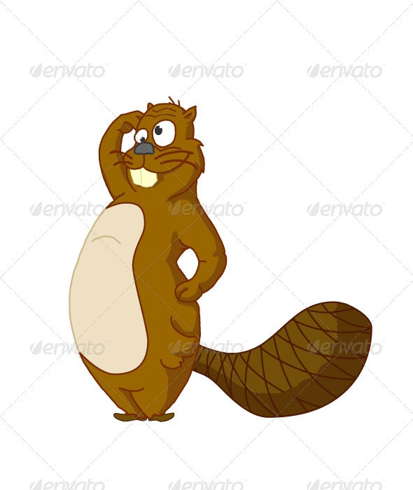 Beaver - Animals Characters