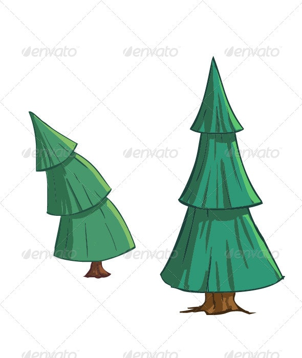 Pine Trees - Nature Conceptual
