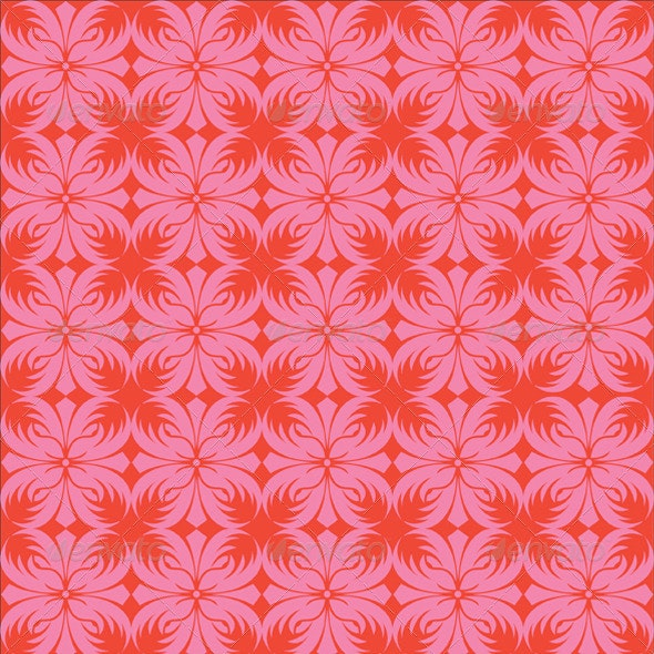 Seamless Batik Background - Patterns Decorative