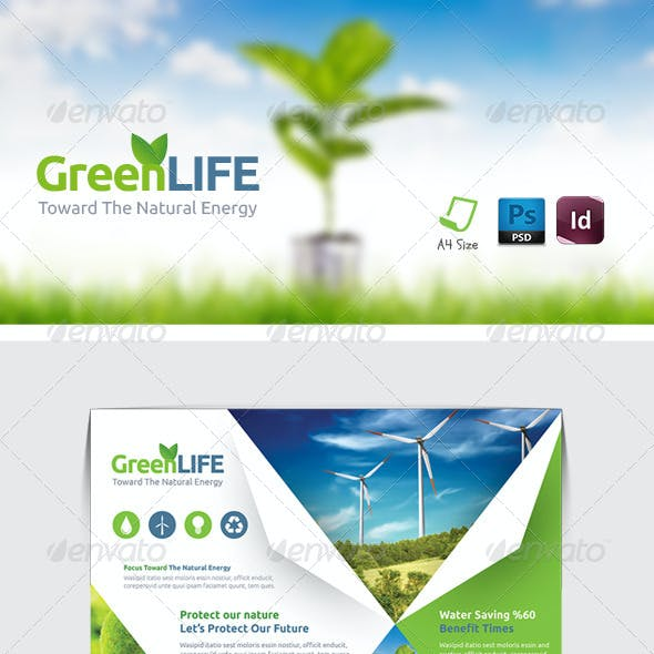 Green Energy Flyer Templates
