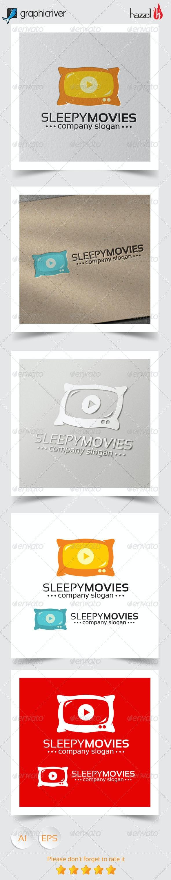 Sleepy Movies Logo - Objects Logo Templates