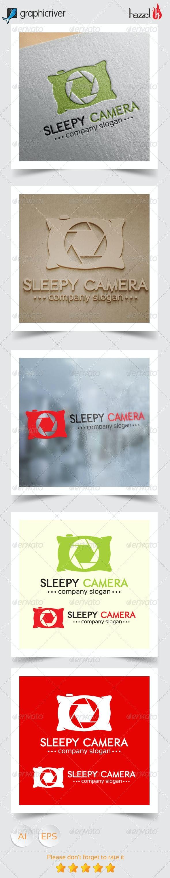 Sleepy Camera Logo - Objects Logo Templates
