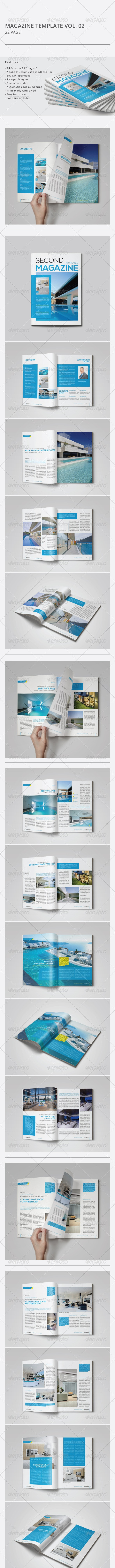 Indesign Magazine Template Vol.02 - Magazines Print Templates