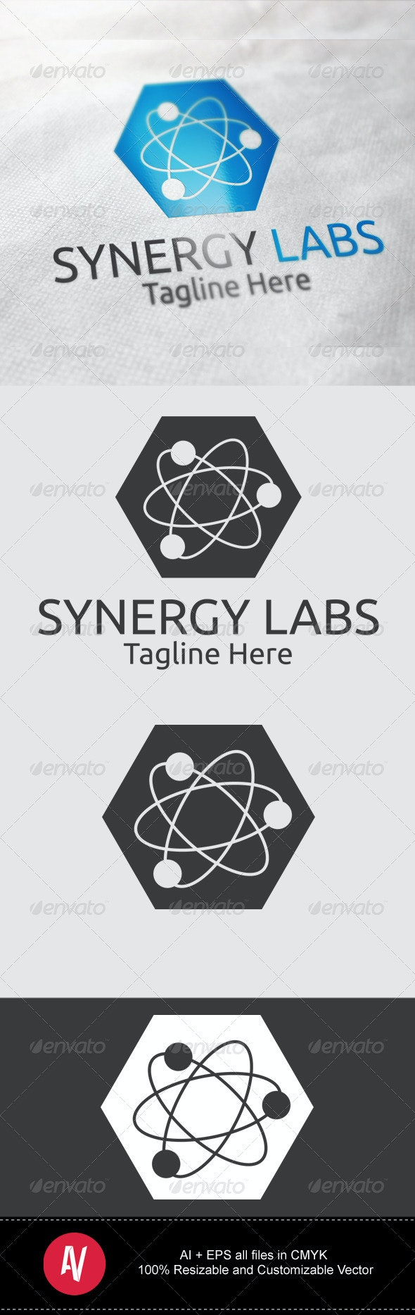 Synergy Labs Logo - Objects Logo Templates