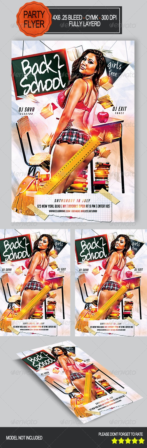 Back 2 School Party   - Clubs & Parties Events