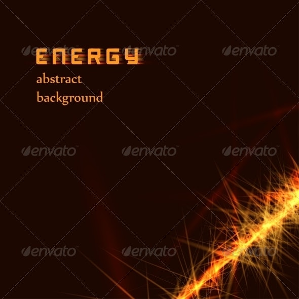 Abstract Energy Light Lines - Backgrounds Decorative