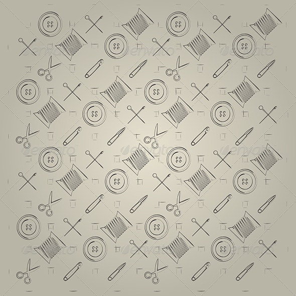 Gray Background for Handmade - Patterns Decorative