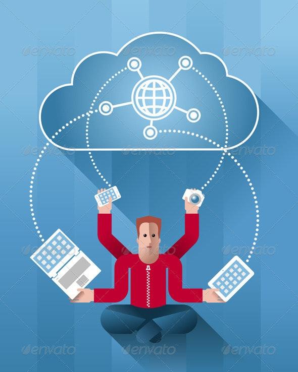 Cloud Meditation - Communications Technology