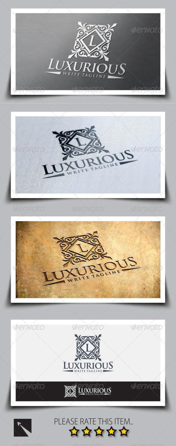 Luxurious Royal Logo Template - Crests Logo Templates