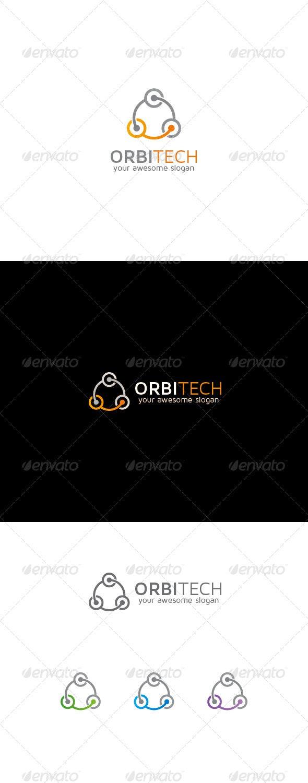 Network Abstract Logo - Abstract Logo Templates