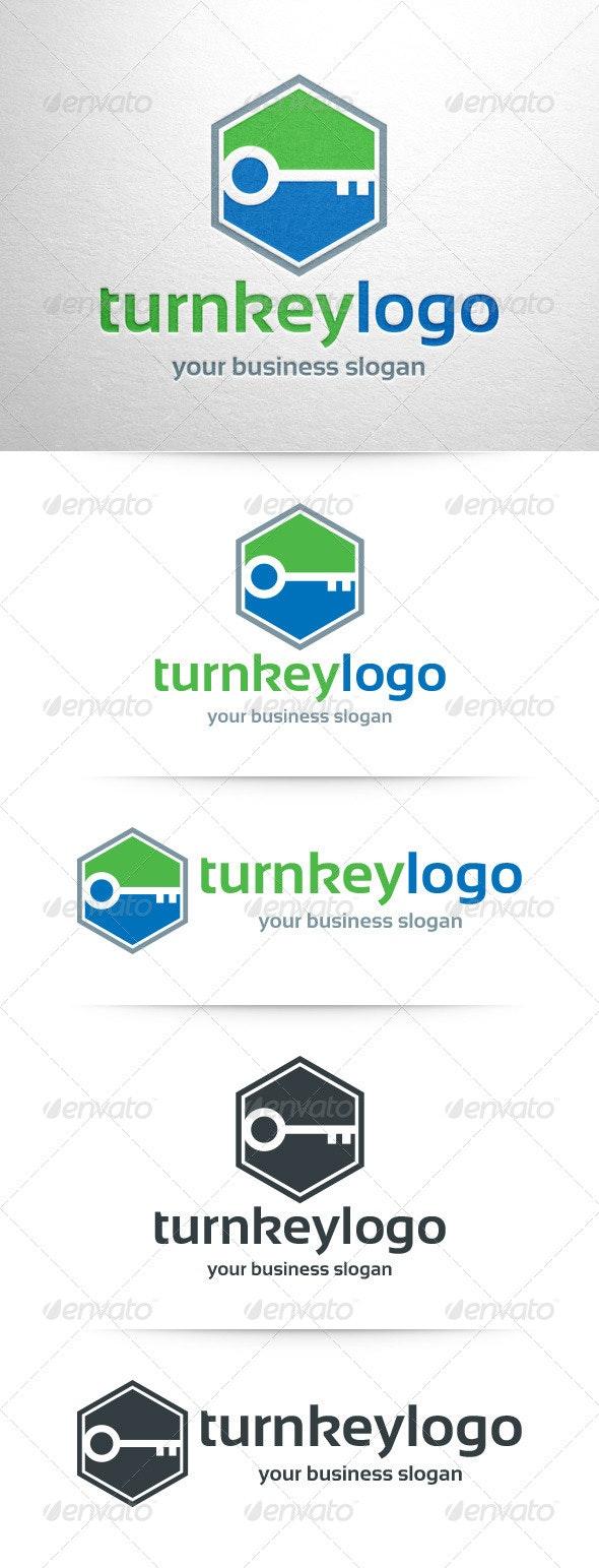 Turn Key Logo Template - Objects Logo Templates
