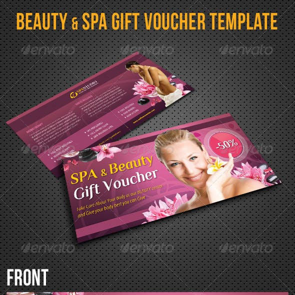 Beauty and Spa Gift Voucher V19