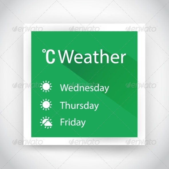Icon of Weather - Web Technology