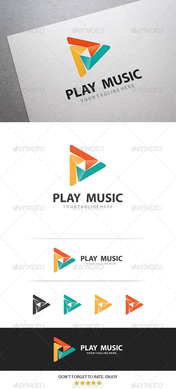 Play Logo - Symbols Logo Templates