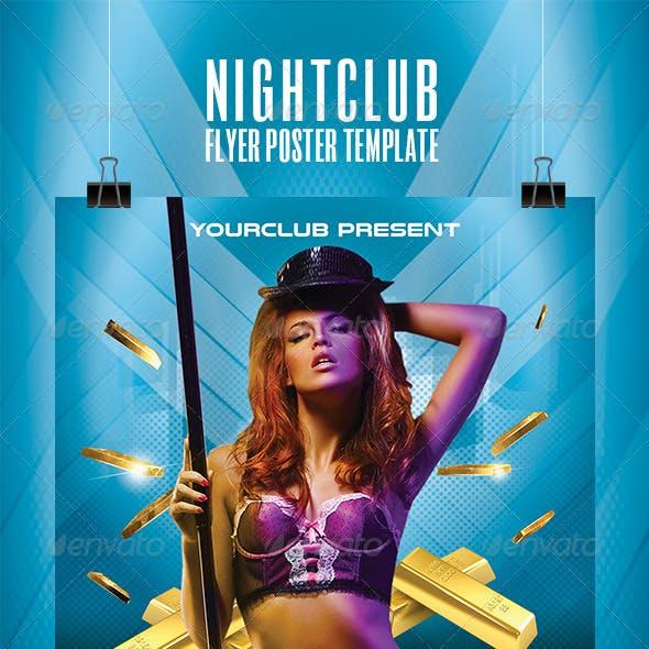 Nightclub Flyer Poster Template