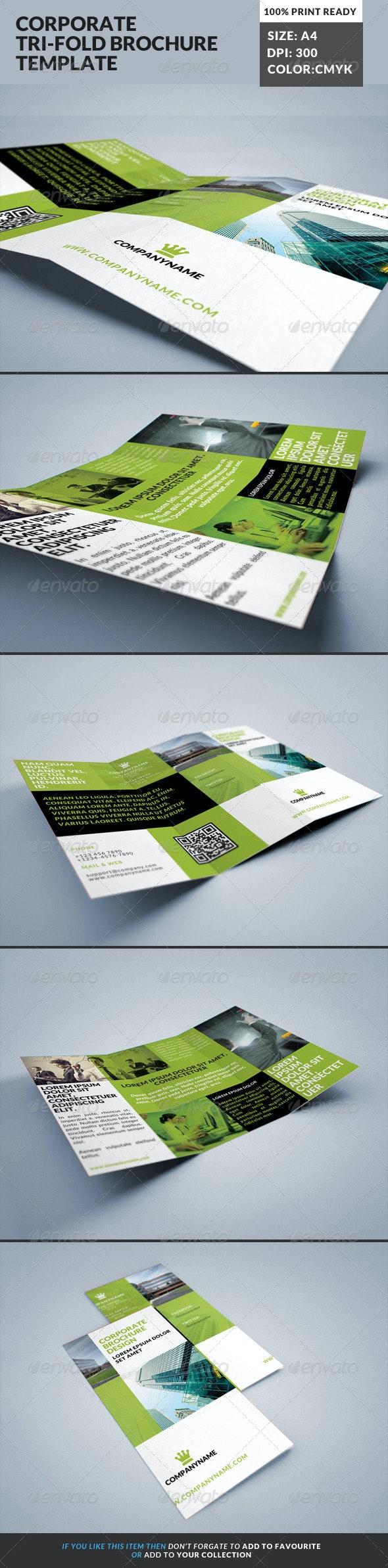 Corporate Tri-Fold Brochures Template 17 - Corporate Brochures