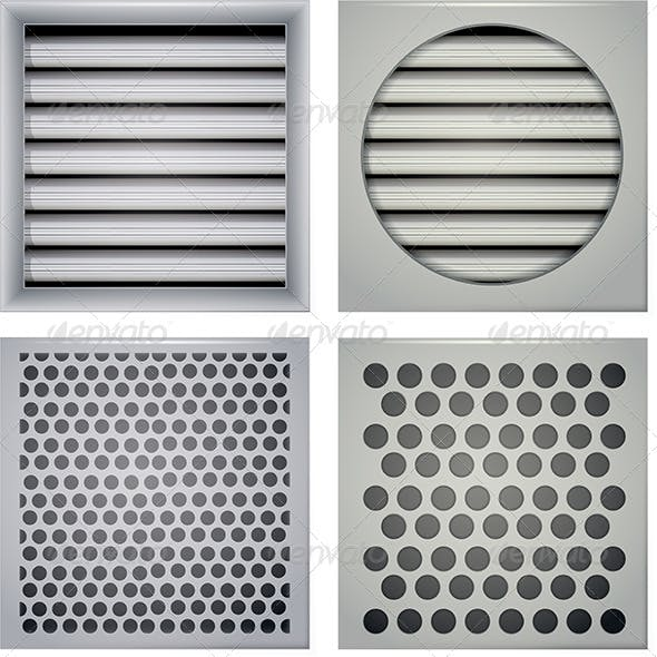 Illustration of Ventilation Shutters