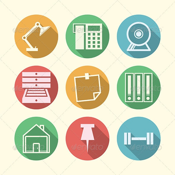 Vector Icons for Freelance and Business - Concepts Business
