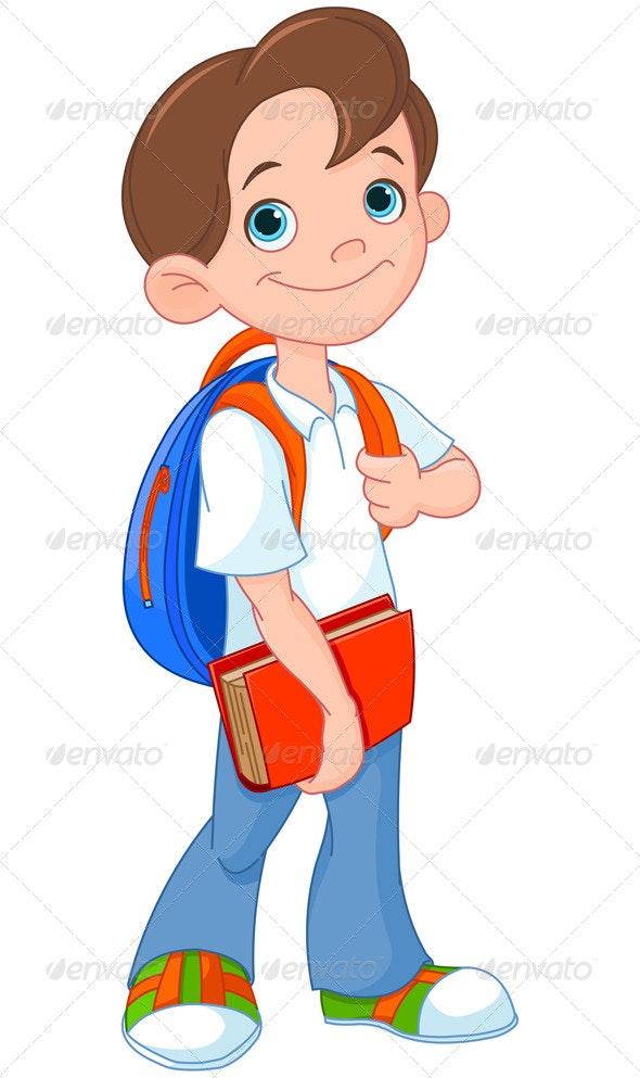 Schoolboy - People Characters