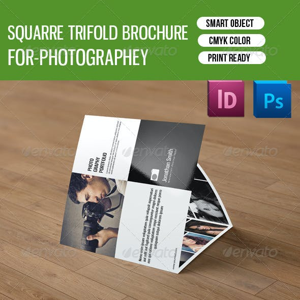Square Trifold Photography Brochure-V18