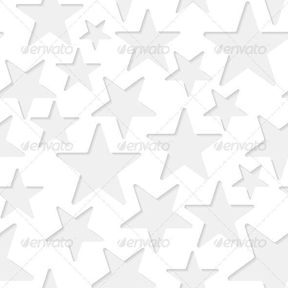 Seamless Stars Paper Pattern