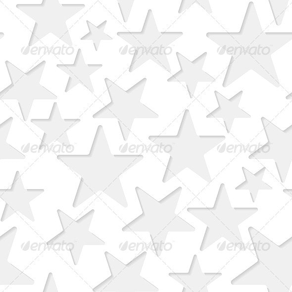 Seamless Stars Paper Pattern - Backgrounds Decorative