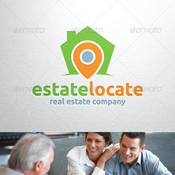 Estate Locate Logo Template