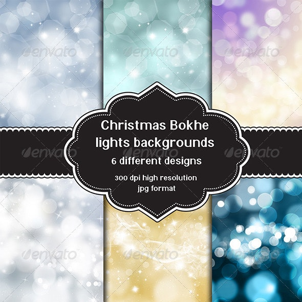 Christmas Background Set - Backgrounds Graphics